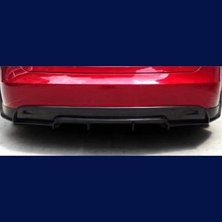 2012-2015 Tesla Model S RVZ Style Rear Bumper Diffuser (Carbon Fiber)