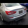 2013-2017 Maserati Quattroporte Euro Style Rear Trunk Lip Spoiler