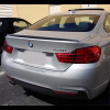 2014-2017 BMW 4 Series Coupe Sport Style Rear Lip Spoiler