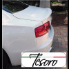 2010-2017 Audi A8 Tesoro Style Rear Lip Spoiler