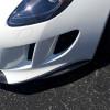 2014-2016 Jaguar F-Type Tesoro 2pc Front Bumper Lip Spoilers