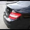 2008-2012 Mercedes C-Class Sedan Factory Style Rear Lip Spoiler