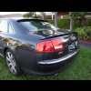 2004-2009 Audi A8 Euro Style 3pc Rear Lip Spoiler