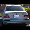 1995-2004 BMW 5-Series M5 Style Rear Lip Spoiler