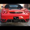 2005-2009 Ferrari F430 H-Style 3pc Rear Diffuser