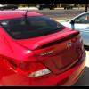 2012+ Hyundai Accent Rear Wing Spoiler w/Brake Light