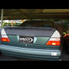 1986-1995 Mercedes E-Class Sedan Factory 3pc AMG Style Rear Spoiler