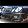 2007-2009 Mercedes E-Class Euro Style Front Lip Spoiler