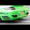 2006-2008Porsche 911 / 997 Turbo Euro Sport Rear Skirt Valance