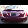 2004-2012 Maserati Quattroporte Euro Style Rear Trunk Lip Spoiler