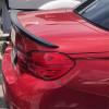 2015-2018 BMW 4 Series Convertible M4 Style Rear Lip Spoiler