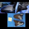 2014-2015 BMW (F80) M3 Real Carbon Fiber Mirror Cover Caps