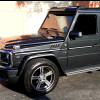 Mercedes Benz G-Class G55,G63,G500,G55 Roof Light Bar Spoiler w/DRL Lights