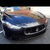 2014-2017 Maserati Ghibli 2pc Front Bumper Lip Spoilers