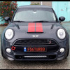 2014-2016 BMW Mini Cooper Tesoro Style 2pc Front Lip Spoilers