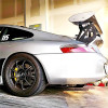 1998-2004 Porsche 911 / 996 Coupe C2 GT3-RS V2 Style Rear Tail Base Wing