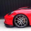 2017-2018 Porsche Boxster Compworks 3pc Front Bumper Lip Spoiler (Carbon Fiber)