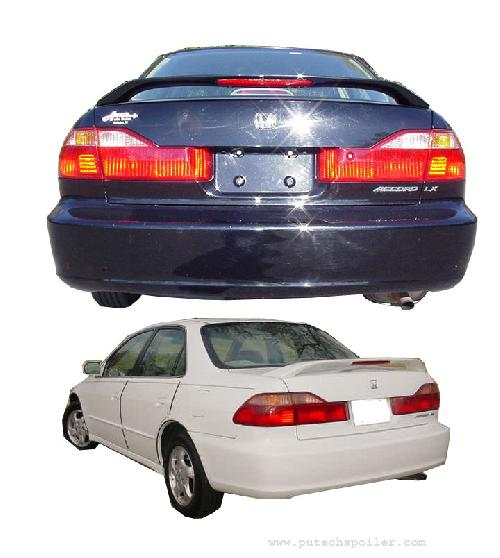 1998-2002 Honda Accord Factory Style Rear Wing Spoiler W/Light