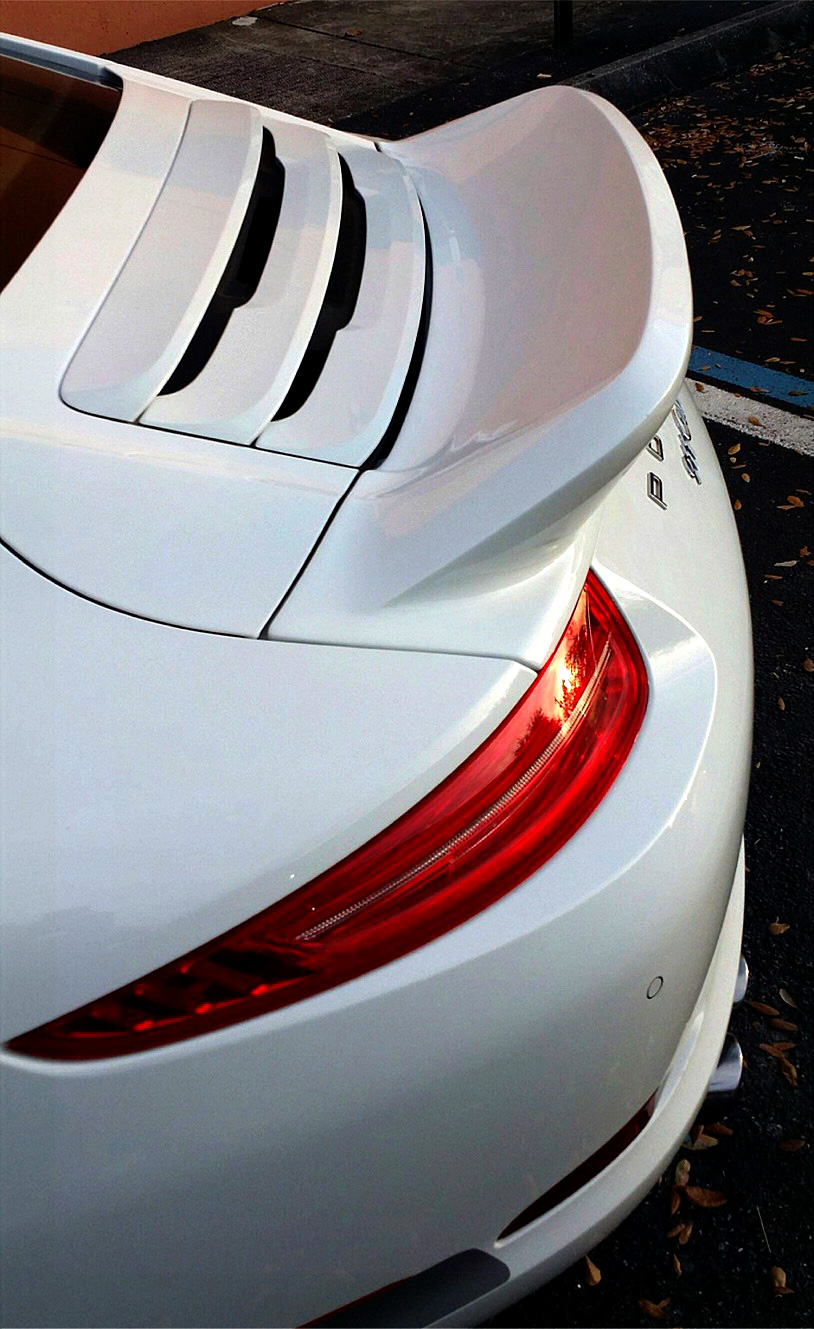 2012 2015 porsche 911 991 ducktail style rear wing spoiler quick overview publicscrutiny Gallery