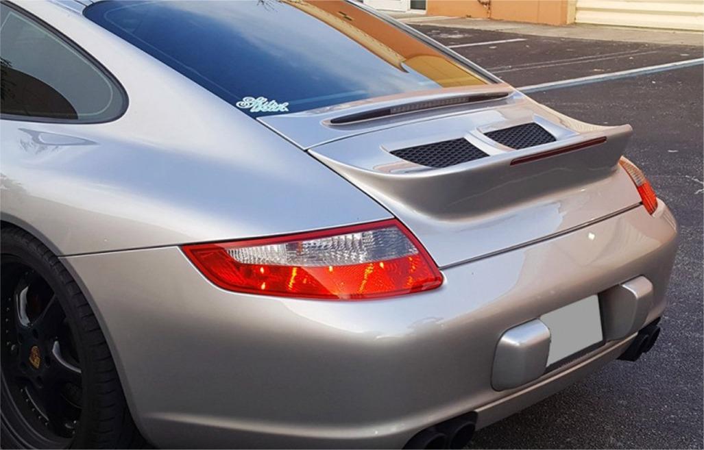 2005 2012 porsche 911 997 classic duck tail style rear. Black Bedroom Furniture Sets. Home Design Ideas